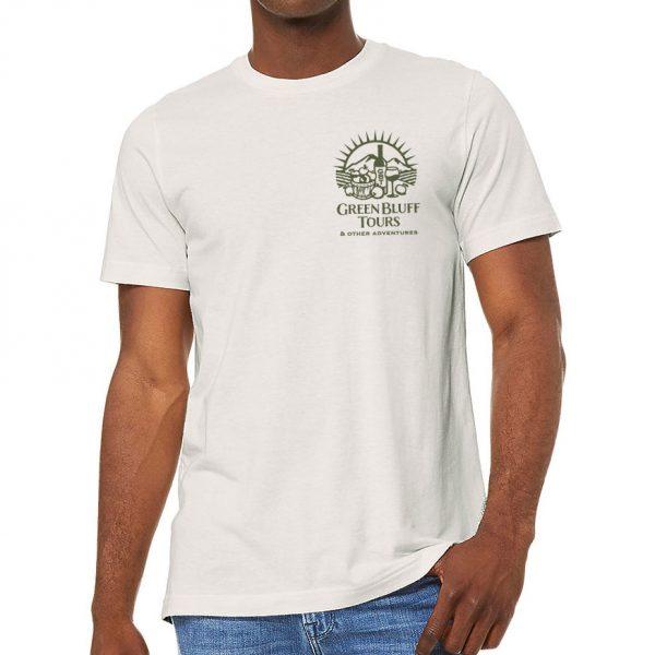 Green Bluff Tours   Men's T-Shirt